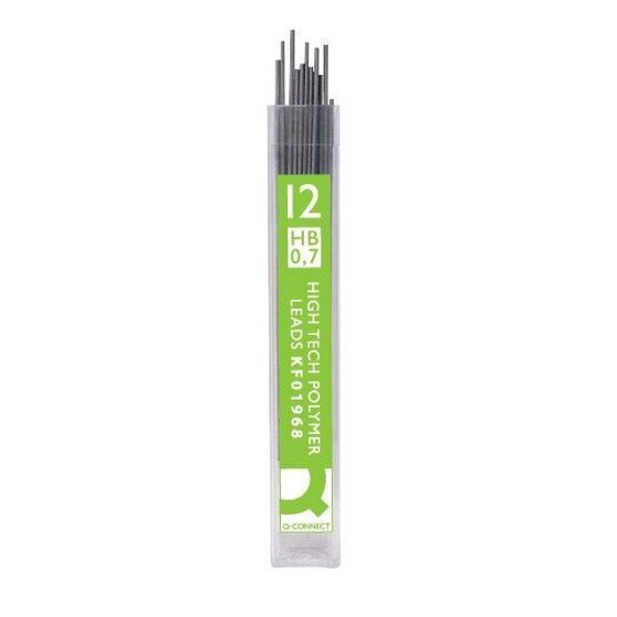 Q-Connect Feinminen Pencil Leads, 0,7 mm, HB